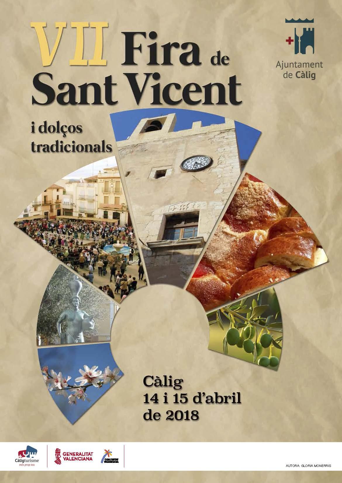 Càlig es prepara per celebrar la 7a Fira de Sant Vicent i Dolços Tradicionals