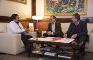 Santa Magdalena, l'alcalde Bou trasllada les principals reivindicacions del poble al president de la Diputació