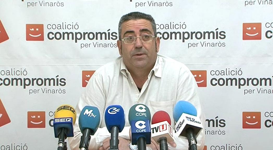 Vinaròs, Compromís respon al PP assegurant que treballa per conservar les pintures fingides de l'església