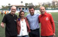 Peñíscola; clausura d'una nova edició del Campus de Futbol  de la Penya Barça 06/04/2018