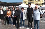 Benicarló; Inauguració de la Fira Comarcal d'Oferta Formativa a la plaça Constitució de Benicarló 26-04-2018
