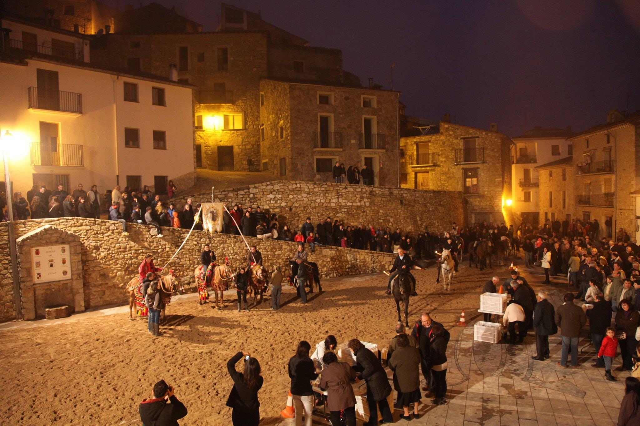 Culla celebrarà aquest cap de setmana la festa de Sant Antoni Abat i Sant Pere Màrtir