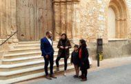 Canet lo Roig, acaben les feines de reparació de la façana de l'Església de Sant Miquel Arcàngel
