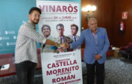 Vinaròs, es presenta la programació taurina per a les Festes de Sant Joan i Sant Pere