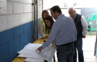 Peñíscola; Visita a les obres de remodelació dels vestuaris del Camp de Futbol 18-05-208