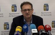 BENICARLÓ; Roda de premsa del regidor de Promoció Econòmica de l'Ajuntament de Benicarló 21-05-2018