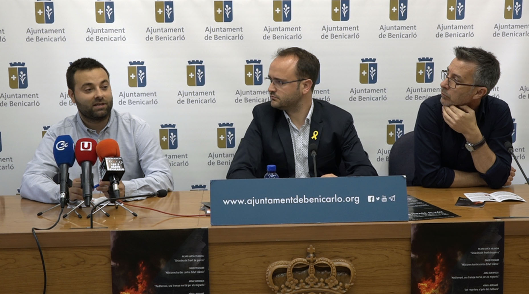Benicarló celebrarà el 9 de juny una jornada dedicada al periodisme de guerra