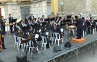 Santa Magdalena; Concert de pasdobles taurins a càrrec de l'Agrupació Musical de Santa Magdalena a la Plaça Espanya de la localitat 12-05-2018