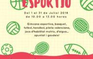 Traiguera, fins al 10 de juny romandran obertes les inscripcions a l'Estiu Esportiu organitzat per l'AMPA