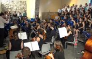 Benicarló; Concert a càrrec del Coro Gregoriano La Salle-Benicarló junt al Cor de Veus Blanques i a l'Orquestra Clàssica de Benicarló 17-06-2018