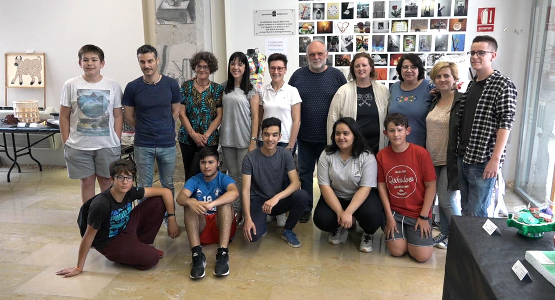 Benicarló, l'Edifici Gòtic acull l'exposició dels alumnes de l'Institut Ramon Cid
