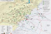Rossell edita un mapa turístic amb totes les rutes senderistes pel terme municipal