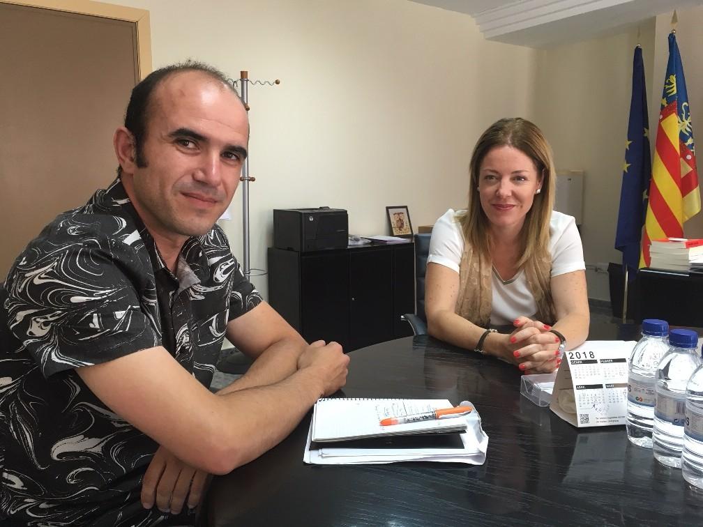La Jana es reuneix amb la Conselleria d'Hisenda de la Generalitat Valenciana
