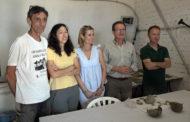 Alcossebre; Troben un tresoret procedent d'un taller d'orfebreria  del segle VI A.C. al jaciment de Santa Llúcia d'Alcossebre 28-06-2018