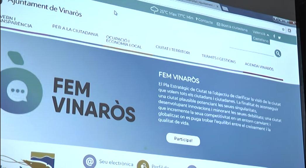 Vinaròs, l'Ajuntament presenta el nou web municipal