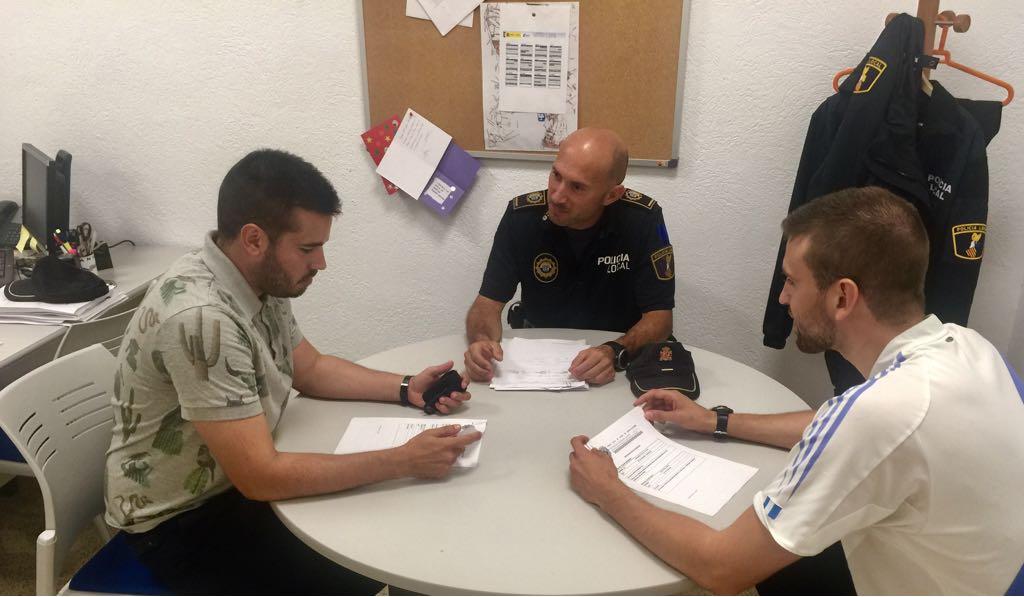 Alcalà fa una valoració positiva dels primers quatre mesos del servei de mediació de la Policia Local
