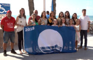 Benicarló; Hissada de les banderes blaves a les platges del Morrongo i La Caracola 03-07-2018