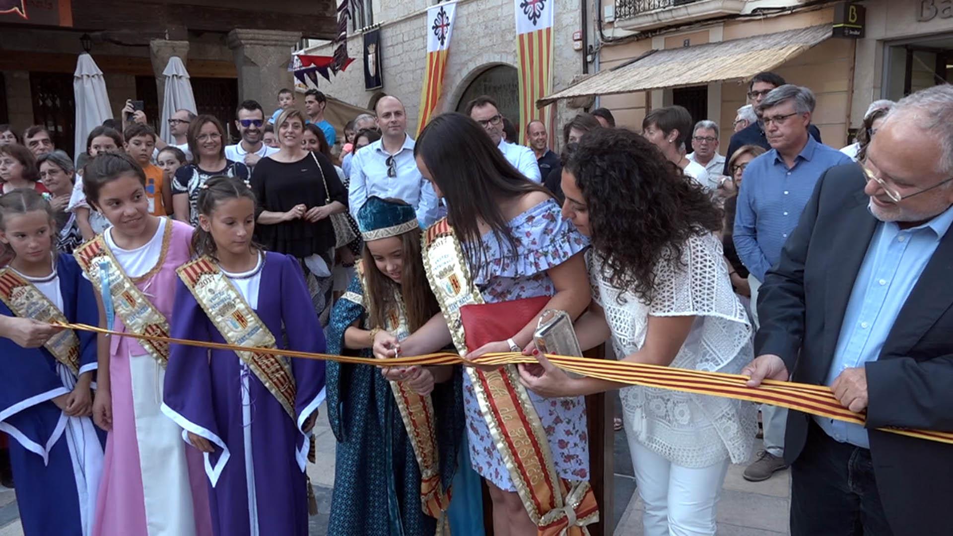 Sant Mateu viatja en el temps amb la celebració del 7è Sant Mateu Medieval