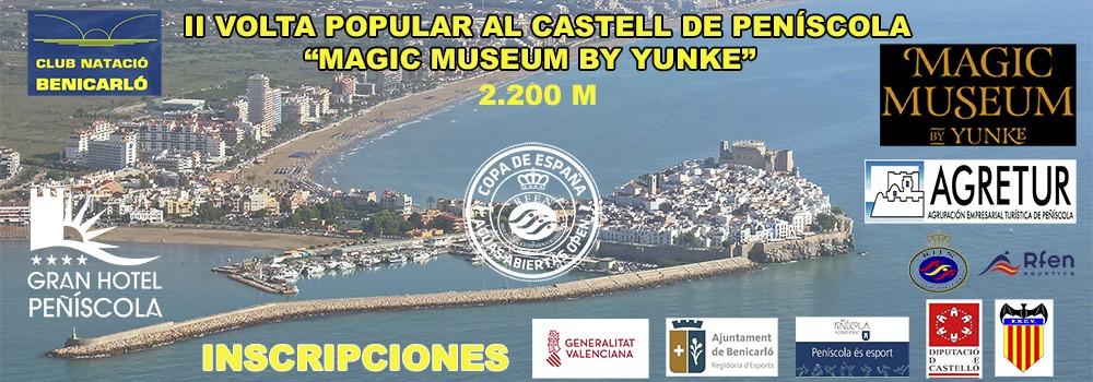 Peníscola acollirà el 12 d'agost la 2a Volta Popular al Castell