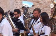 Sant Jordi; concert de les bandes d'Alcalà de Xivert i Sant Jordi 17-07-2016