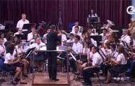 Càlig; concert de l'Agrupació Musical Vila de Càlig 01-08-2015