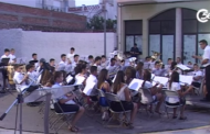 Les Cases d'Alcanar; concert d'intercanvi entre Benicarló i Alcanar 16-07-2015