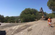 Santa Magdalena, comencen les obres d'adequació del camí rural que comunica amb La Salzadella