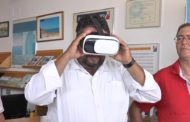 Alcalà de Xivert - Alcossebre; Presentació de les ulleres de realitat virtual VR de l'oficina de turisme d'Alcossebre 06-08-2018