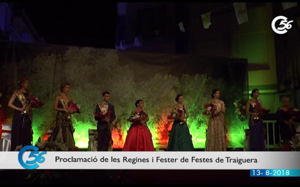 Traiguera; Reines i Fester 11-08_2018