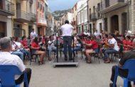 Peníscola; concert d'intercanvi entre Peníscola i Xert 08-07-2018