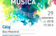 Càlig acollirà dissabte la 25a Trobada de Bandes de Música del Baix Maestrat