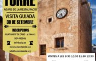 Càlig oferirà el 30 de setembre visites guiades a la Torre