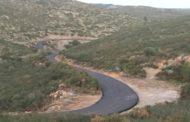 Santa Magdalena, les obres d'adequació del camí fins a La Salzadella acabaran aquesta setmana