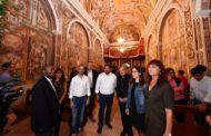 La Diputació recupera les pintures de l'ermita de la Mare de Déu de l'Avellà de Catí