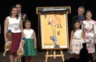 Benicarló; Comiat de les Falleres Majors 2018, lliurament de la banda a les noves Falleres, i presentació del cartell anunciador 2019 15-09-2019