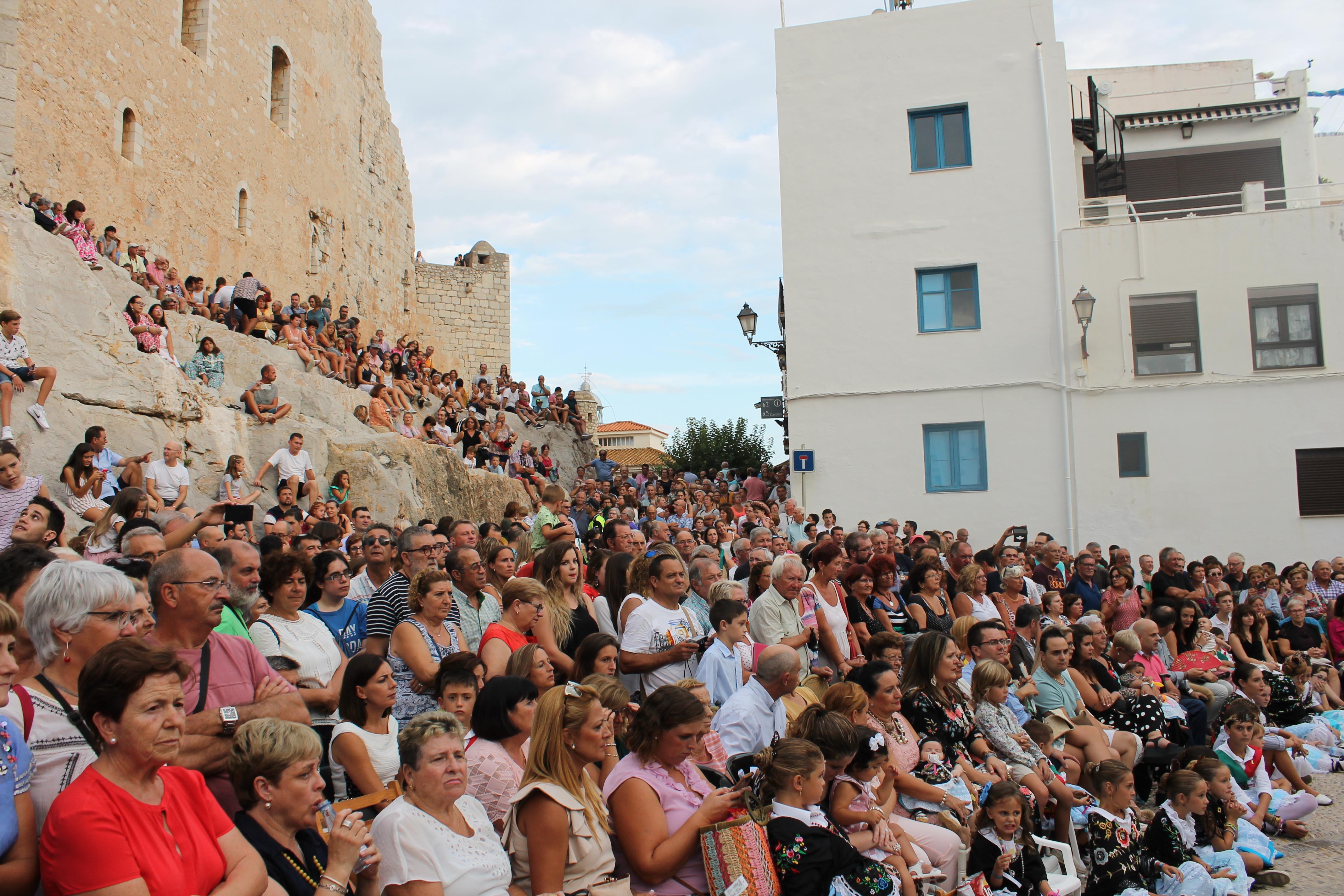 Peníscola registra una elevada ocupació turística durant les Festes Patronals