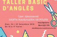 Santa Magdalena acollirà els dies 24 i 25 de setembre un taller intensiu d'anglès
