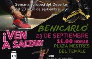 Benicarló celebrarà la Setmana Europea de l'Esport amb classes magistrals gratuïtes