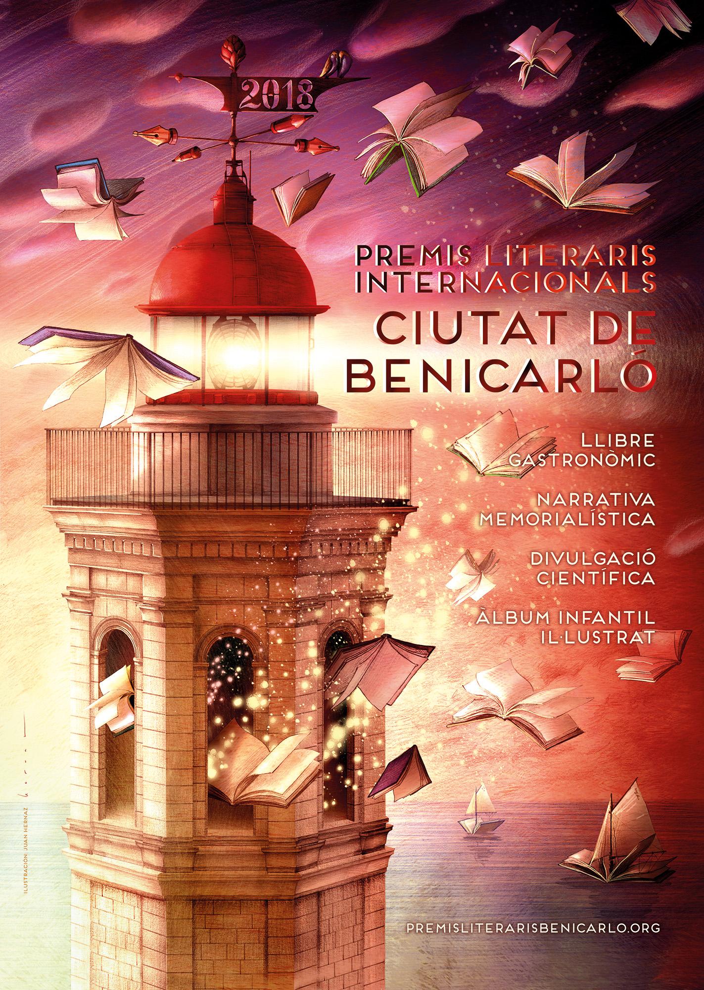 Benicarló tanca el termini dels Premis Literaris amb 36 obres presentades a concurs