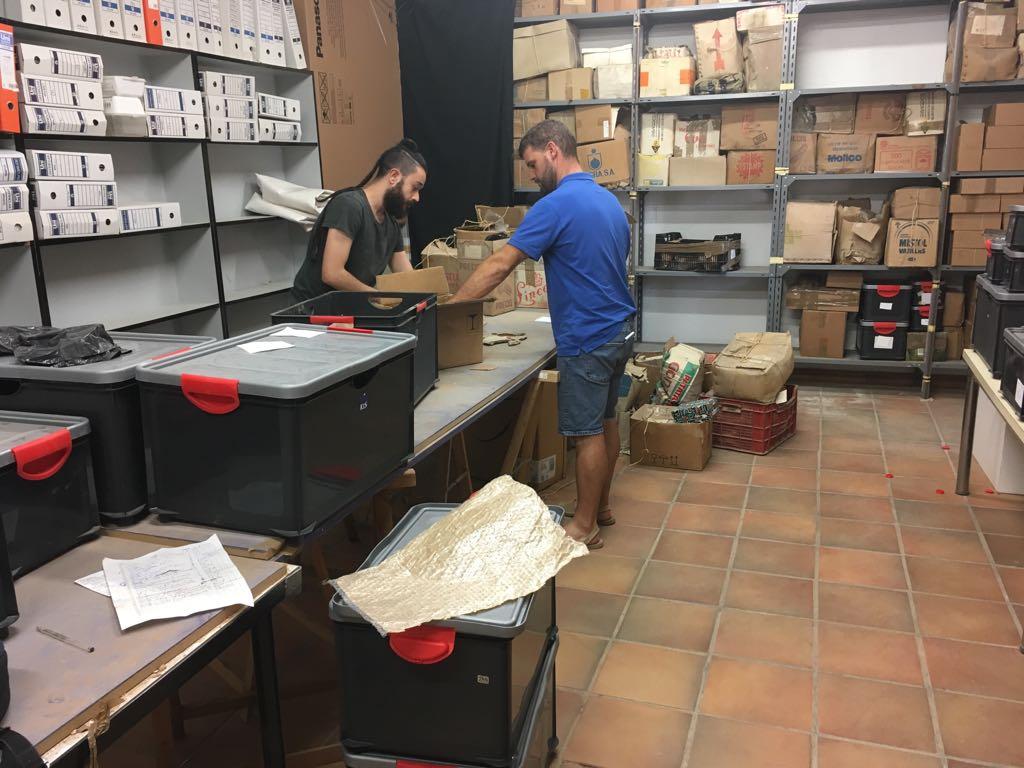 Benicarló, el Mucbe cataloga totes les peces descobertes en el jaciment iber del Puig de la Nau