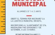 Santa Magdalena obre el termini per a les matriculacions a la Ludoteca Municipal