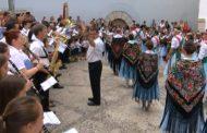 Peníscola; segona actuació del Grup Cultural de Danses a la plaça l'Ajuntament 09-09-2018