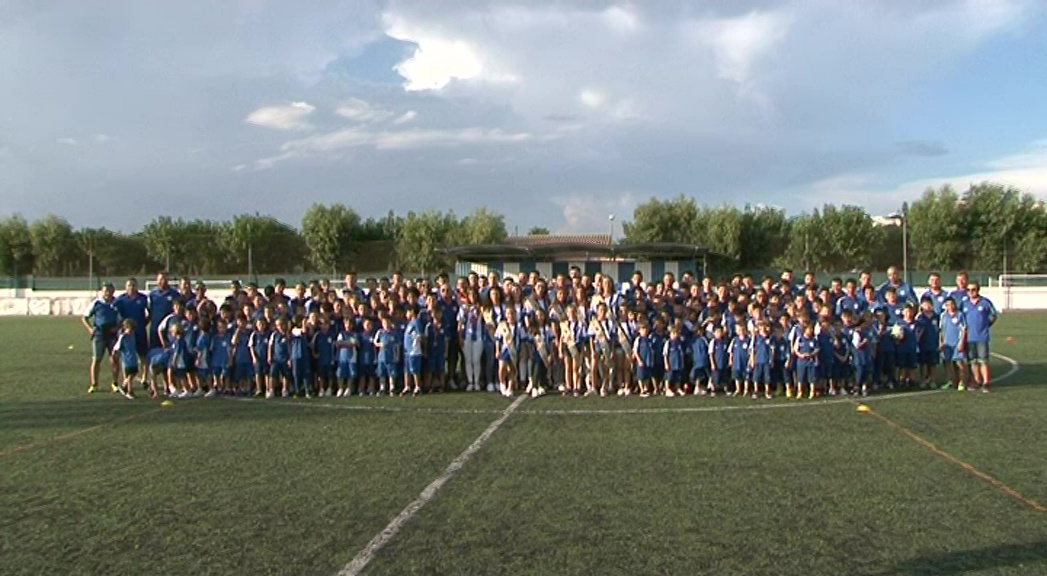 Peníscola presenta els equips de futbol de l'ACD Peníscola