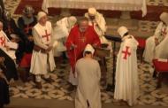 Culla Templaria, Cerimònia d'entrada de nou membre a l'ordre Militia Christi del Maestrazgo 16-09-2018