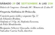 Peníscola; presentació del concert final del 34è Cicle de Música Clàssica 27-09-2018