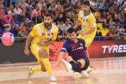 Soferta victòria del Peníscola RehabMedic per 1 a 2 davant del Barça Lassa