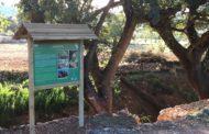 La Jana, finalitzen les obres d'adequació a l'entorn de la Roureda de l'Engolidor i als camins rurals