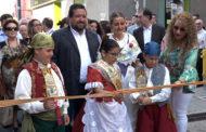 Alcalà de Xivert; Inauguració de la VI Fira de la Tomata de Penjar d'Alcalà de Xivert 13-10-2018