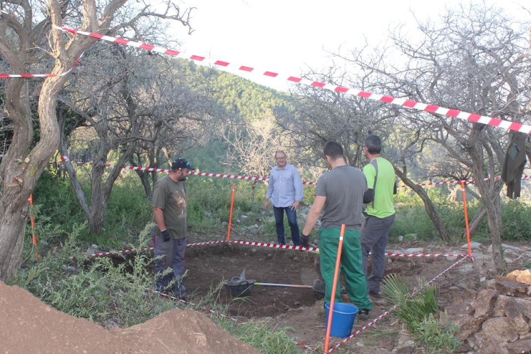Santa Magdalena, comencen les excavacions arqueològiques al castell de Polpís