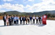 La Diputació inaugura el nou heliport de La Salzadella